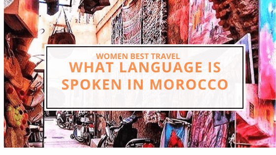 what language is spoken in morocco