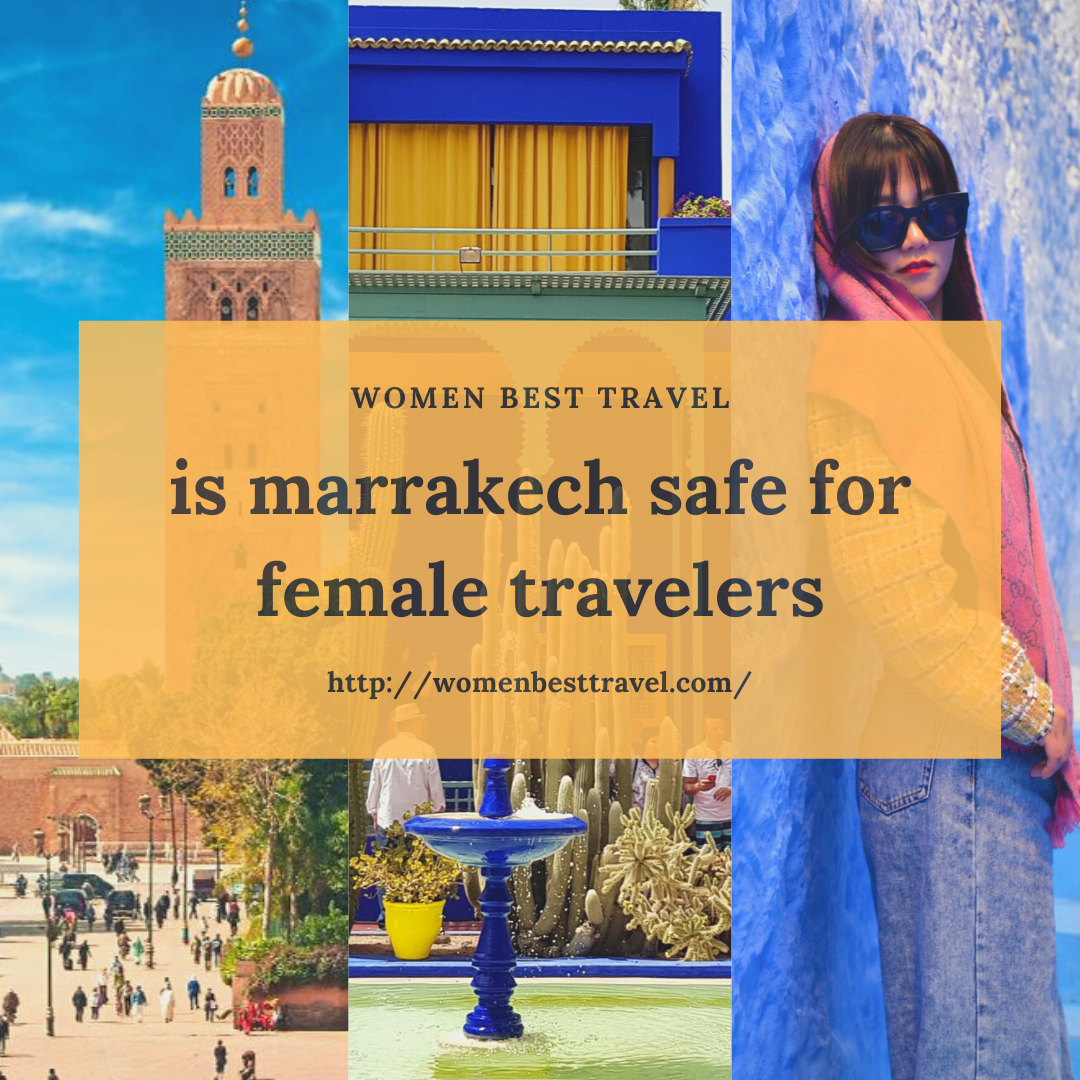 Is Marrakech safe at night?