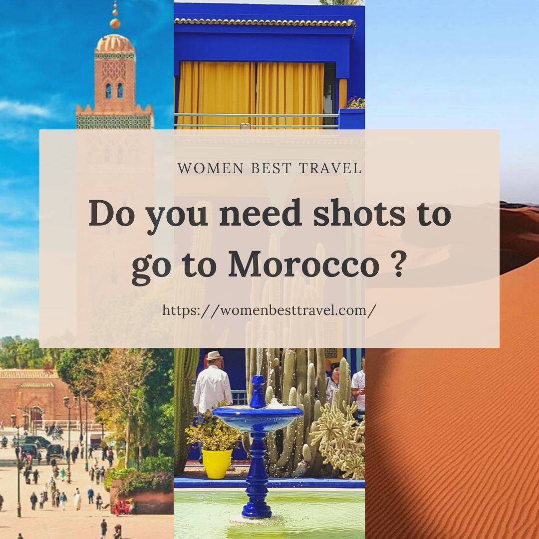 Do you need shots to go to Morocco from USA?