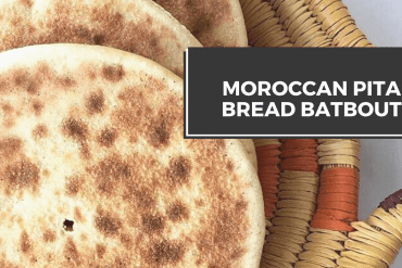how to make Moroccan pita bread batboot recipe