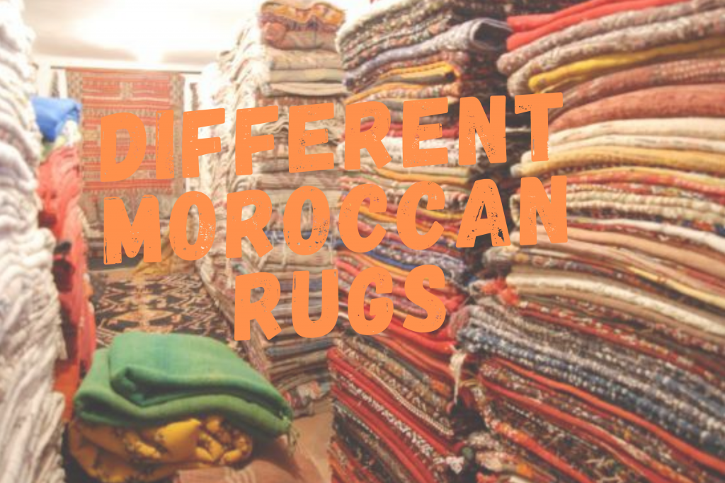 DIFFRENT MOROCCAN RUGS