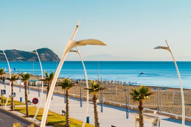 Martil beach North Morocco