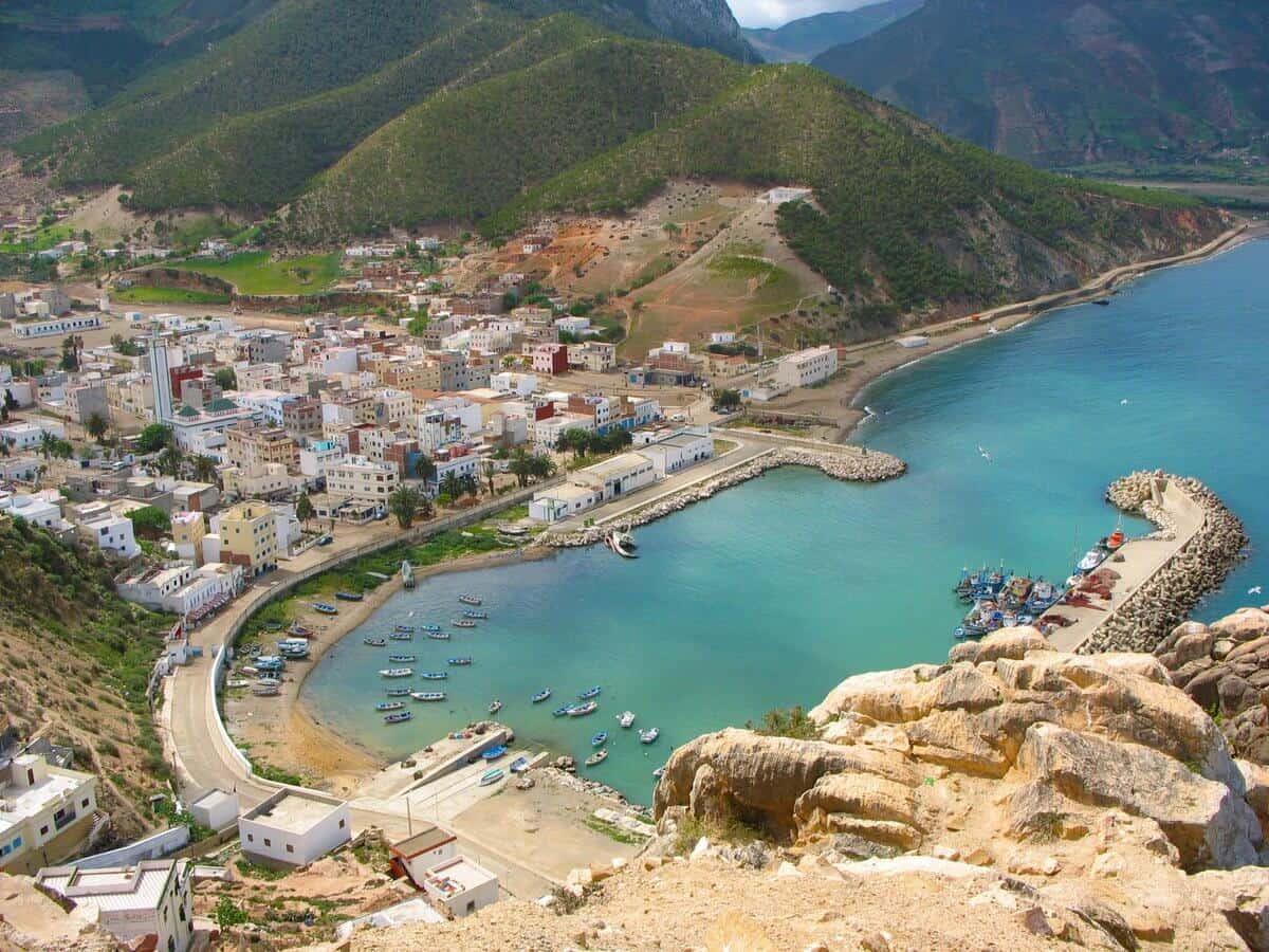 El Jebha beach