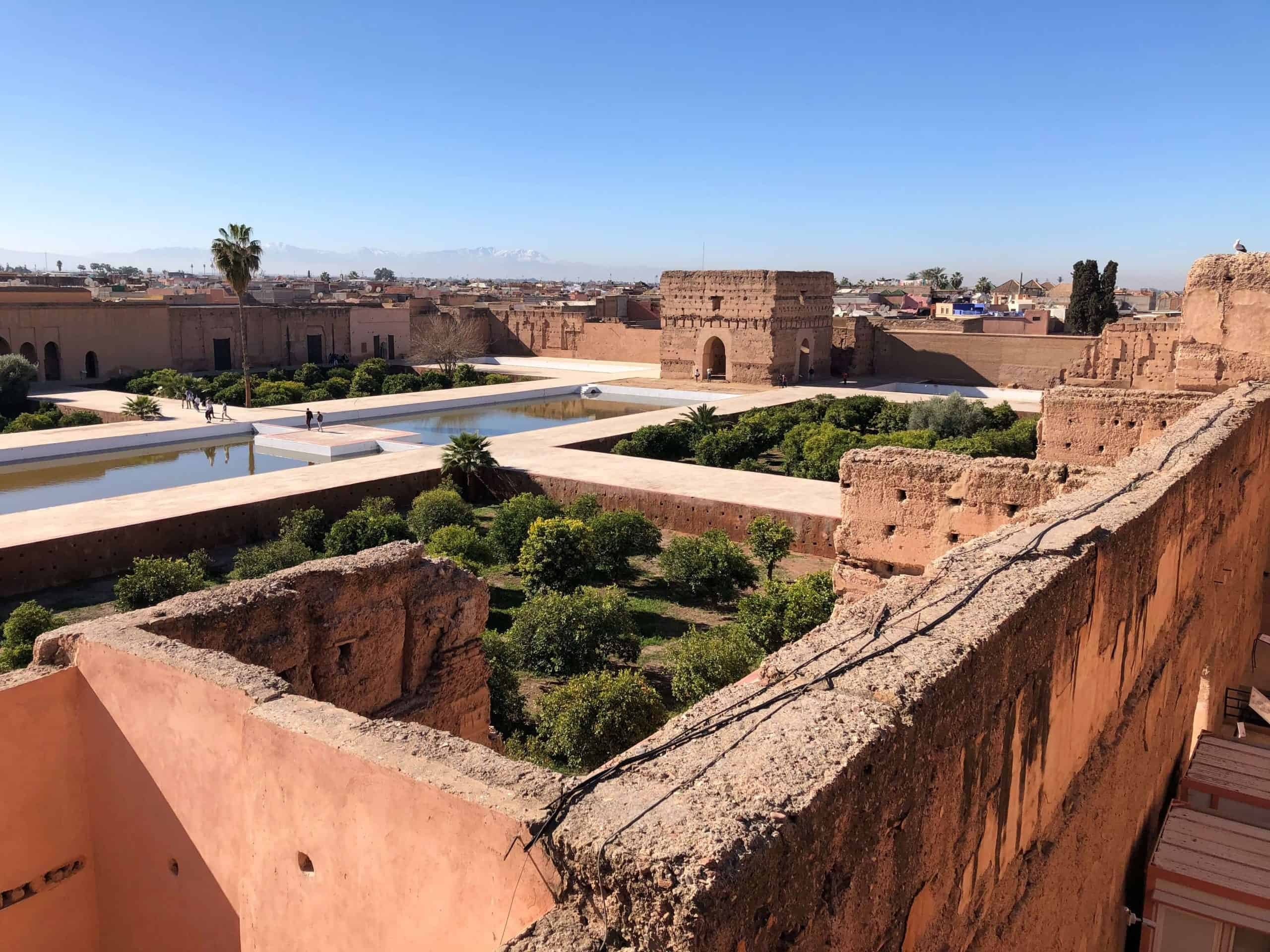 Palaces of Marrakech Morocco