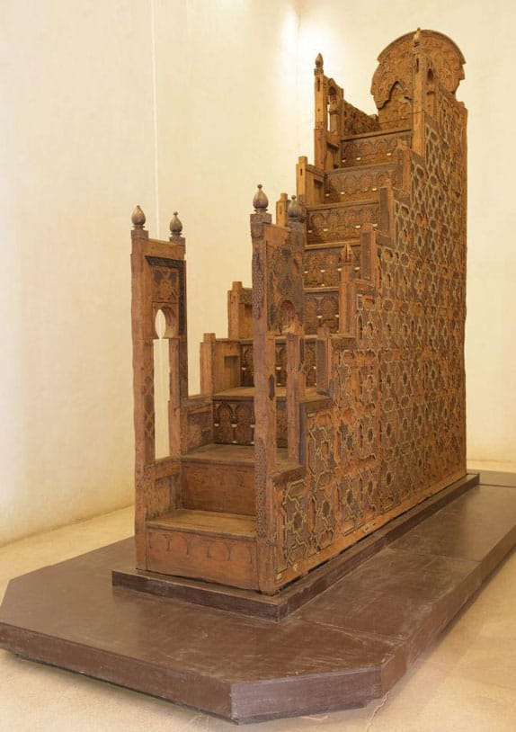 The koutoubia minbar in el Badii Place